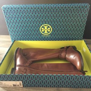 Tory Burch Derby Riding Boots